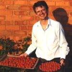 Nick Chenhall with Tomatoes