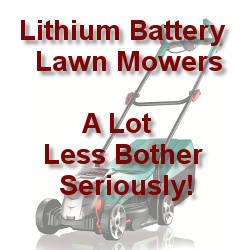 Lithium Battery Lawn Mowers