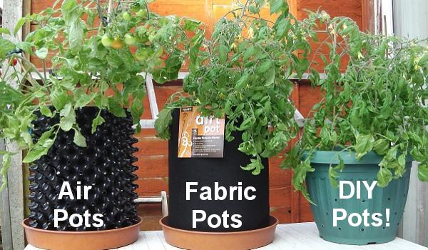 Air Pots and Fabric Pots